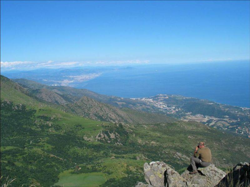 panorama dal Parco del Beigua